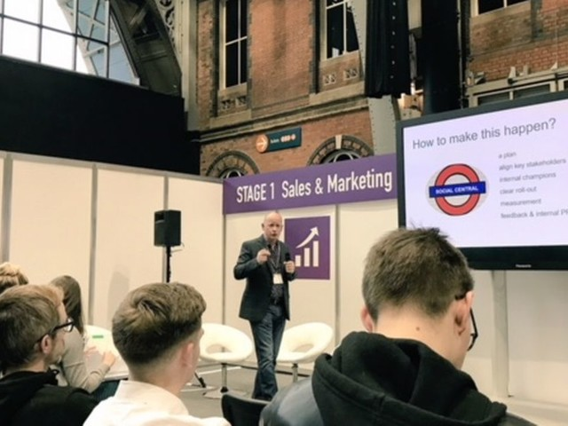 Hundreds attend Smarter Business Tech LIVE event