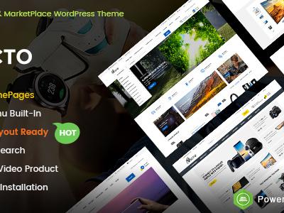 Victo - eCommerce & MarketPlace WordPress Theme (Mobile Layouts Included) (WooCommerce)