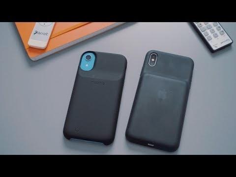 Battery Case Showdown: Apple's Smart Case vs. Mophie's Juice Pack Access