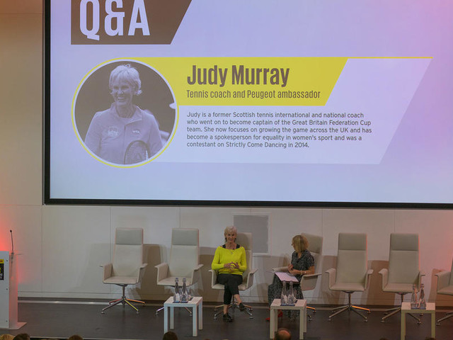Great British Women: Judy Murray on her success