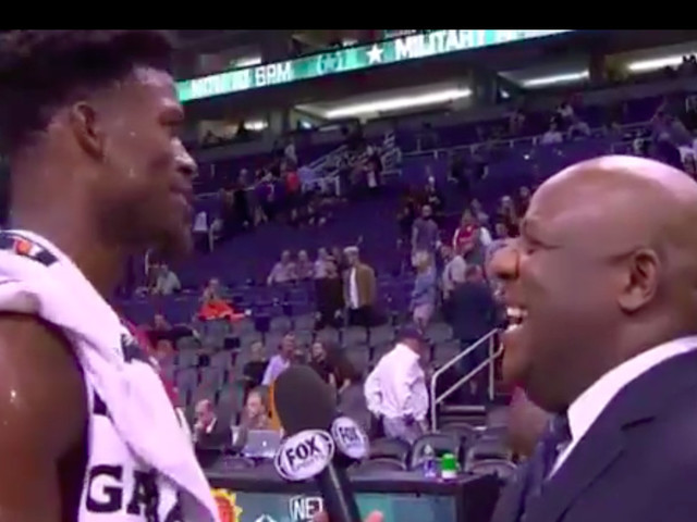This awkward interview perfectly defines Jimmy Butler
