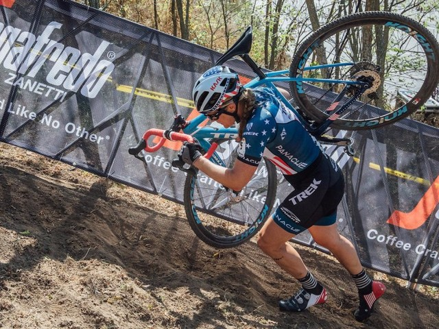 The top American cyclocrosser talks about making it in a 'man's sport' and why you should probably turn off your phone and try to get more sleep