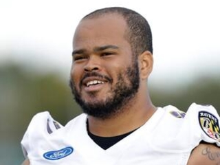 Returning to London, Ravens rookie tackle comes full circle