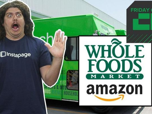 Crunch Report | Amazon Bids to Buy Whole Foods for $13.7 Billion