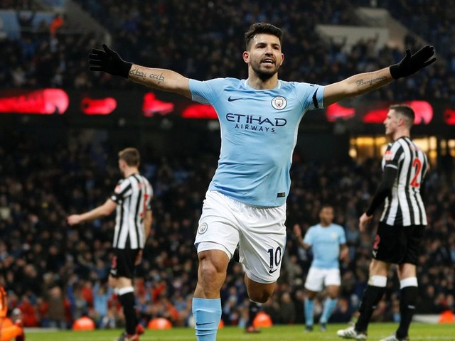 Premier League team of the weekend: Hat-trick hero Sergio Aguero leads the line - but who else makes our XI?