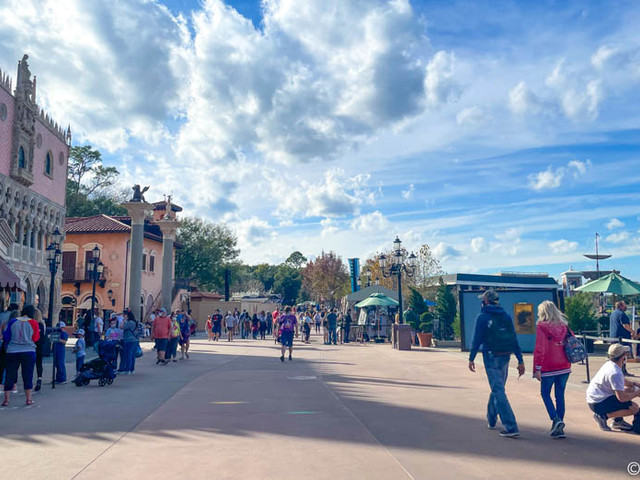 PHOTOS: Construction on EPCOT's New Gelato Stand is Moving Along in Disney World!