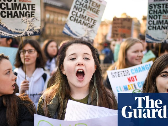 Nationwide UK student climate strike – in pictures