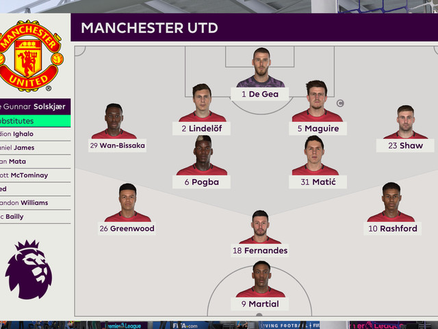 We simulated Brighton vs Manchester United to see what might happen