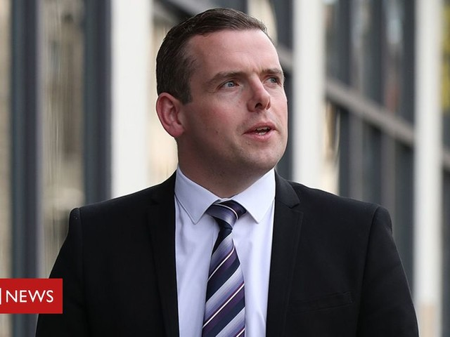 Douglas Ross promises economy plan 'in first month'