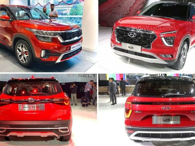 Upcoming 2020 Hyundai Creta Vs Kia Seltos – Comparison