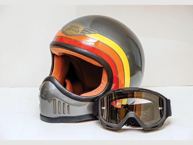 Review: Royal Enfield MYO Urban Trooper helmet review