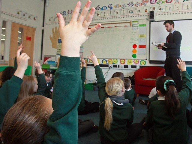Teacher guidance based on Manchester research launching in primary schools