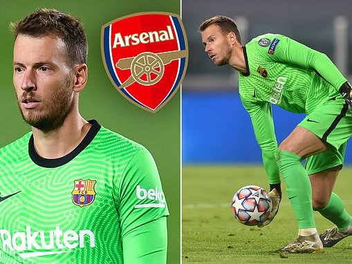 Barcelona keeper Neto Murara could be on his way to Arsenal this month to compete with Bernd Leno