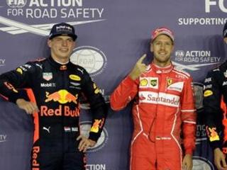 Dominant Vettel takes pole for Singapore GP; Hamilton 5th