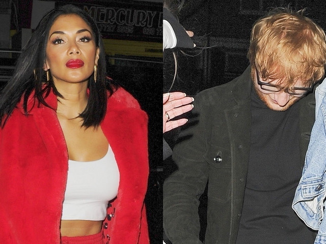 Nicole Scherzinger & Ed Sheeran Grab Dinner After His 'X Factor' Performance