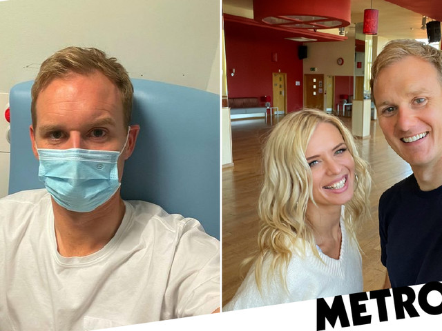 Strictly Come Dancing's Dan Walker 'behind' with training after head injury hospital dash