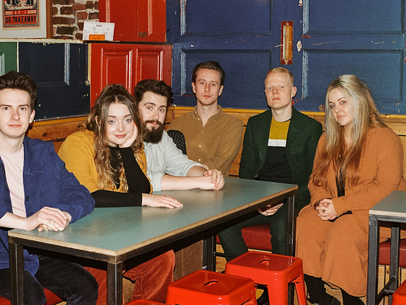 Leeds sextet Talkboy share thrilling new single 'Wasting Time' [405 Premiere]