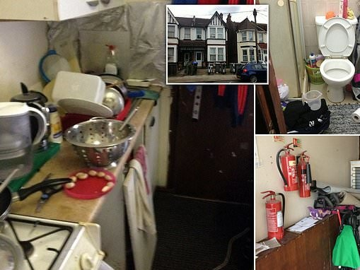 Rogue landlord, 56, dubbed 'Slumlord Millionaire' who illegally split homes into tiny bedsits