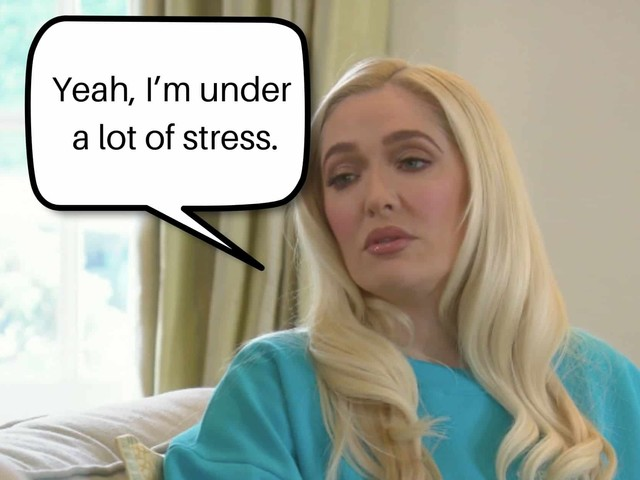 RHOBH Erika says Tom confronted his burglar and had to have eye surgery because of it