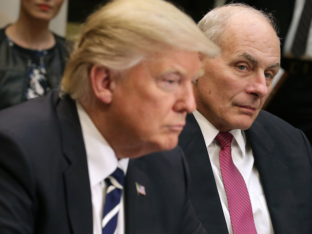 View from the Left: John Kelly now just a tool of the 'deranged animal' in the White House