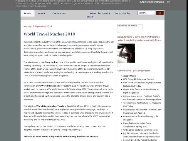 World Travel Market 2010
