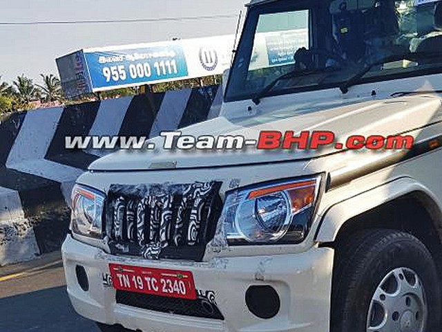 Mahindra Bolero BS6 Spotted On Test