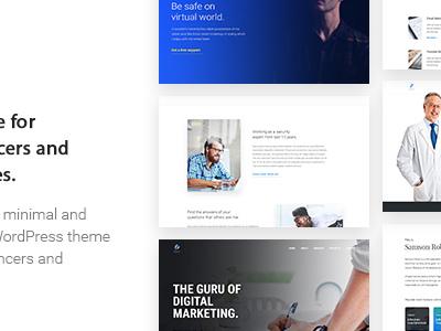 Scorn - Portfolio WordPress theme for Freelancers and Agencies (Portfolio)