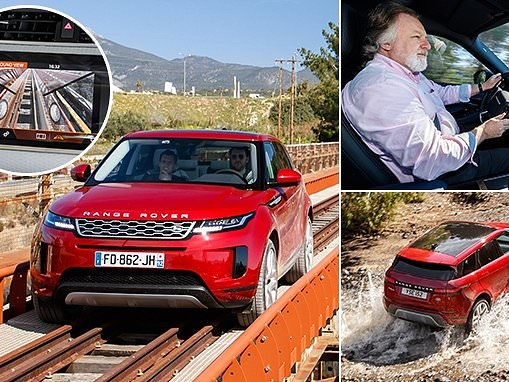 Range Rover's new Evoque is a £32,000 luxury compact SUV with X-ray vision
