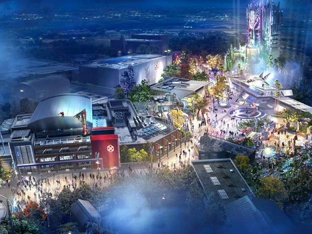 Name Announced for Super Hero Lands in California Adventure and Disneyland Paris