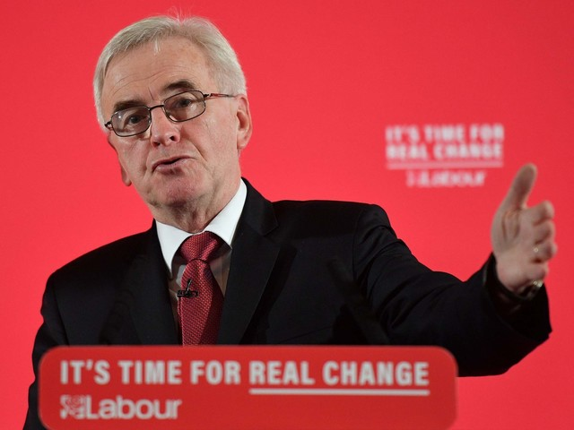 Labour to begin nationalising energy and water within 100 days of winning election, party vows