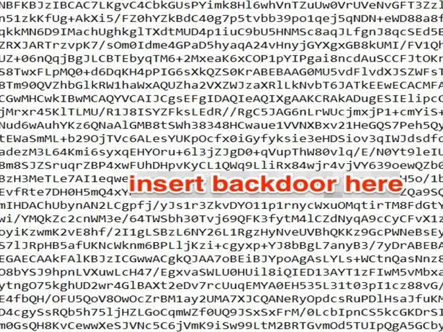 We need to talk about mathematical backdoors in encryption algorithms