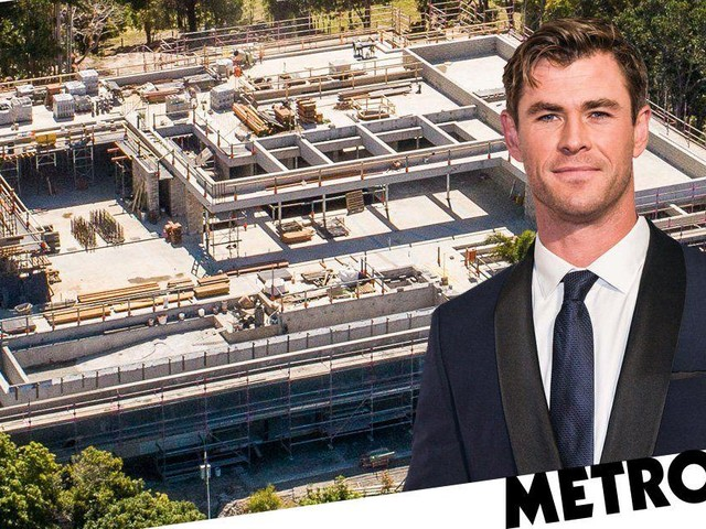 Chris Hemsworth's new £6m house is absolutely massive – but has been compared to a shopping mall
