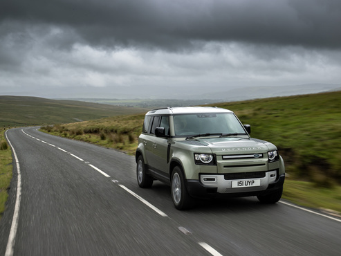 Land Rover investigates hydrogen fuel cell use with Defender prototype