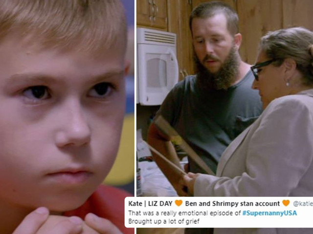 Supernanny viewers in tears as she begs stepdad not to beat boy, 10, grieving after his father died in a car crash