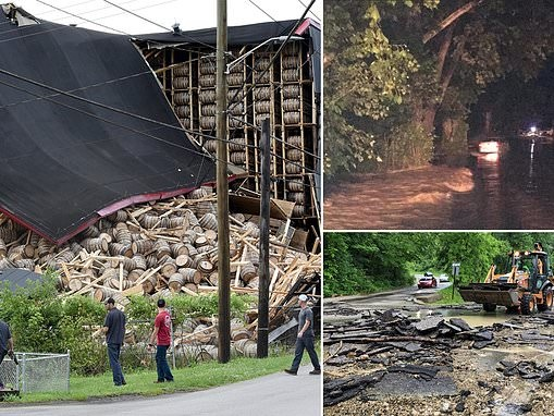 Flood waters in Illinois and Kentucky contributes to two deaths