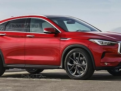 """Infiniti QX55 """"Coupe"""" Gets Accurately Rendered, Will Take on the BMW X4"""
