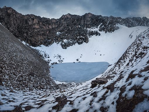 'Skeleton lake' located 16,000ft up in the Himalayas is filled with some 'Mediterranean migrants'