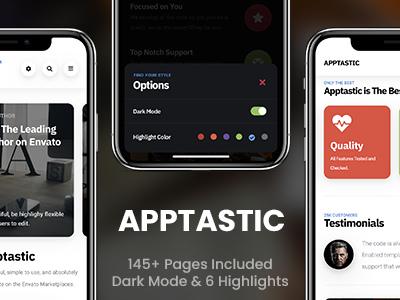 Apptastic Mobile | Mobile Template (Mobile)