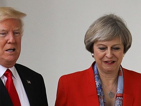 Donald Trump still hopes to meet the Queen during a 'downgraded' UK visit