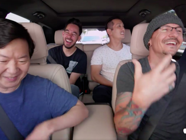 Watch Linkin Park's Carpool Karaoke Filmed Just Days Before Chester Bennington's Death (VIDEO)