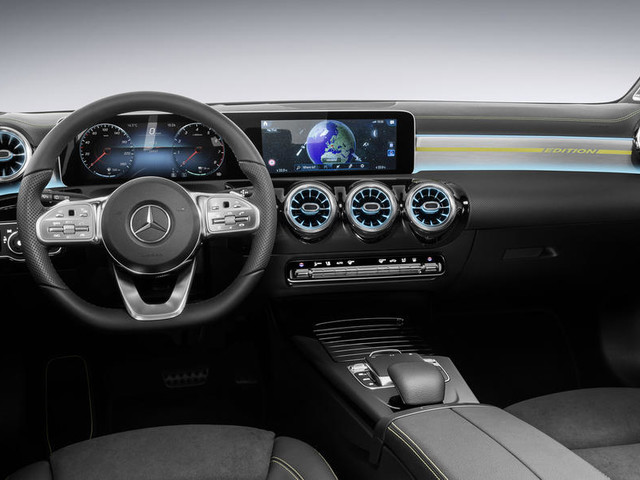 2018 Mercedes A-class interiors officially revealed