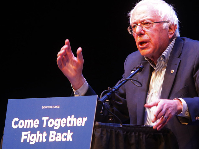How Bernie Sanders Learned To Stop Worrying And Love The Democratic Party
