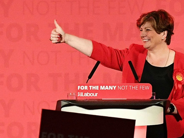 Union boss backs Emily Thornberry as next Labour leader