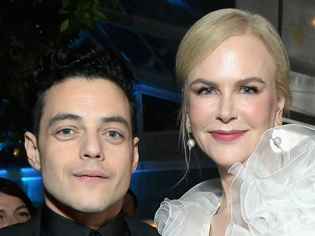 Nicole Kidman Reacts to Her Accidental Snubbing of Rami Malek at Golden Globes 2019
