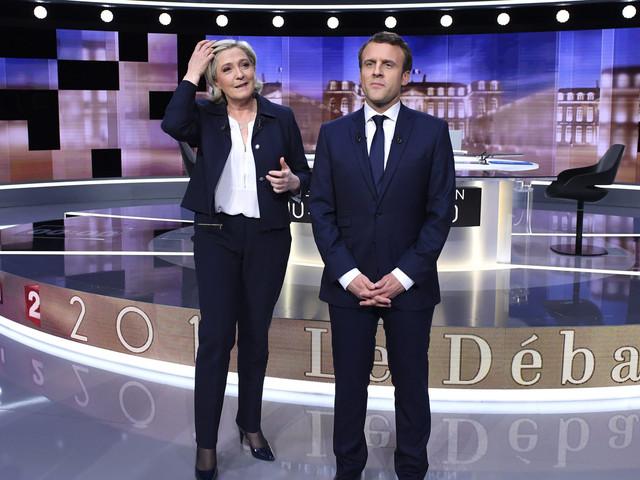 Emmanuel Macron Brands Marine Le Pen A 'Parasite' During French Presidential Election Debate