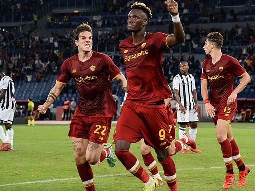 Roma 1-0 Udinese: Tammy Abraham scores first home Serie A goal
