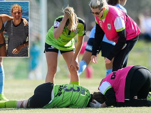 'I saw a bright light and thought I had died': Soccer player, 20, suffers sixth concussion