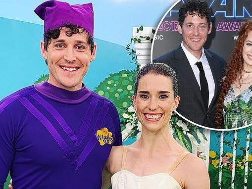 Purple Wiggle Lachlan 'Lachy' Gillespie 'finds love with ballerina Dana Stephensen'