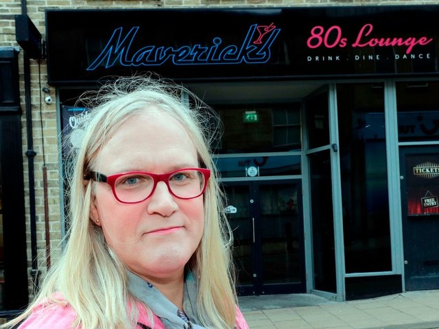 Bar staff blocked transgender woman from using the toilet at Maverick's 80s Lounge