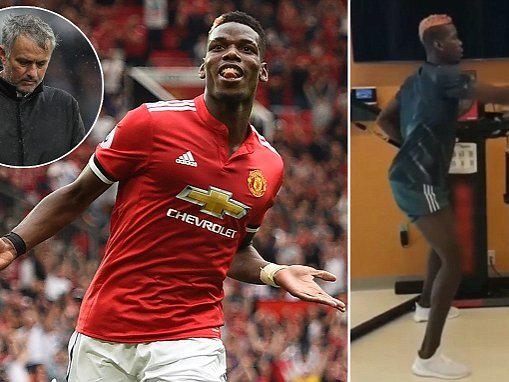 Manchester United star Paul Pogba is a leader